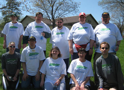 Photo of Special Olympics participants, 2009
